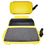 Scuba Choice Waterproof Dry Box Case Container with Form (Fits iPhone 6 Plus), Yellow