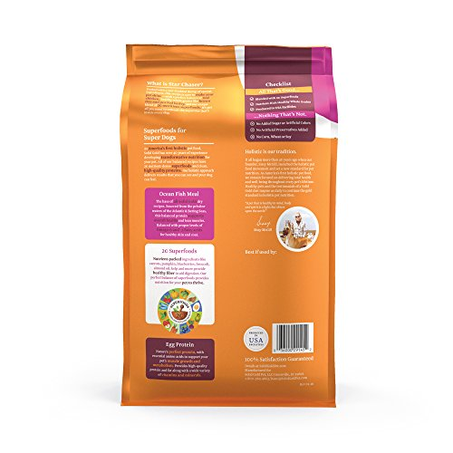 Solid Gold Star Chaser Natural Whole Grains Dog Food for All Life Stages