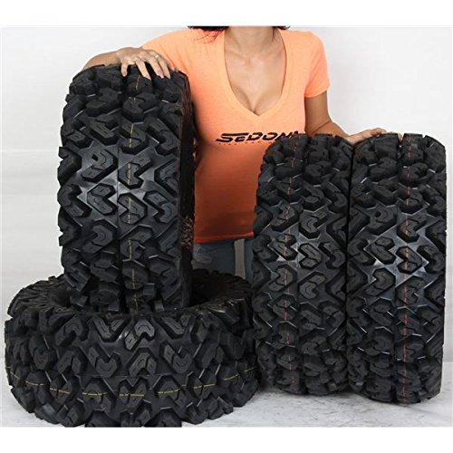 Saw Stock - Full set of Sedona Rip Saw 25x8-12 and 25x10-12 ATV Tires (4)