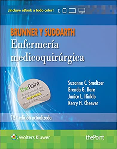 Brunner y suddarth enfermera medicoquirrgica edicin actualizada brunner y suddarth enfermera medicoquirrgica edicin actualizada spanish edition 12th edition kindle edition fandeluxe Choice Image