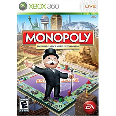 Monopoly - Xbox 360 (Worldwide): Artist Not Provided: Video Games