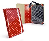 Tuff-Luv Book Style Slim fabric case cover for Amazon Kindle 4 / 6