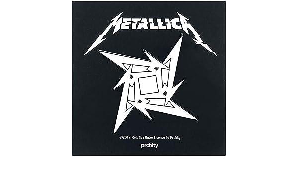 Metallica Ninja Star Pin multicolor: Amazon.es: Hogar