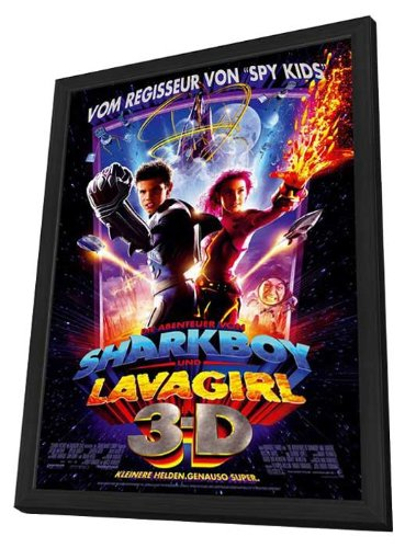 The Adventures of Sharkboy and Lavagirl 3-D Framed Movie Poster
