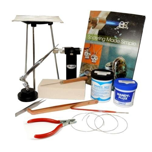 (Jewelry Soldering Kit w/Butane Torch SFC Tools Kit-1700)