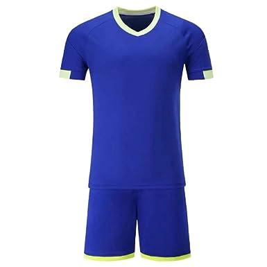 1cb4e1b4d Soccer Jerseys Men Football Jerseys Soccer Uniforms Youth Adult Football  Set Sports Clothing  Amazon.co.uk  Clothing
