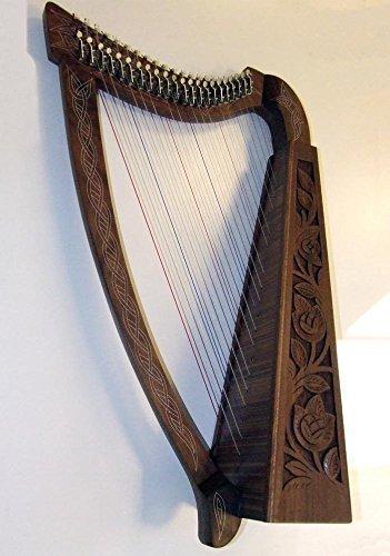 Keltische Harfe 22 Saiten mit Halbton