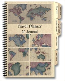 Travel planner journal amazon rosemary tony pinson travel planner journal amazon rosemary tony pinson 9780966791815 books gumiabroncs Gallery