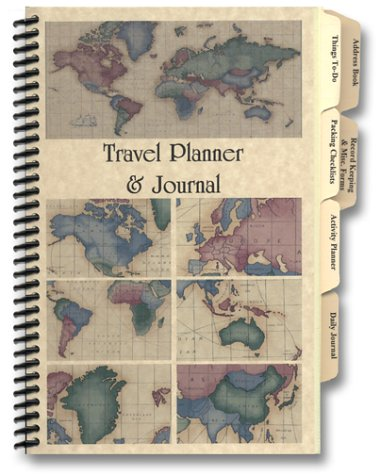 Travel planner journal amazon rosemary tony pinson travel planner journal amazon rosemary tony pinson 9780966791815 books gumiabroncs Gallery