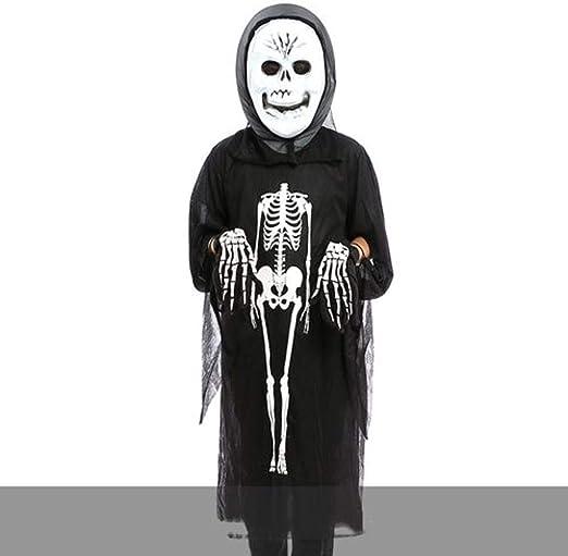 LALY A SHOP Disfraz de Halloween Cráneo Esqueleto Demonio Fantasma ...