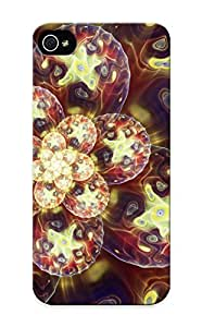 Crazinesswith LNHocCU4370eVroG Case Cover Skin For Iphone 5/5s (fractal Microbes)/ Nice Case With Appearance