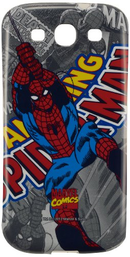 Anymode Marvel Comics Spiderman Hard Case for Samsung Galaxy - Samsung Spiderman S3 Galaxy Case