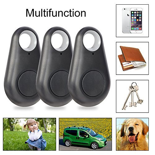 Smart Key Finder, EiffelT Bluetooth Key Wallet Item Finder Locator Wireless Anti lost Locator Phone Finder with Selfie Shutter for Android Smartphone or iPhone