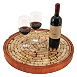 Lazy Susan Cork Display by True