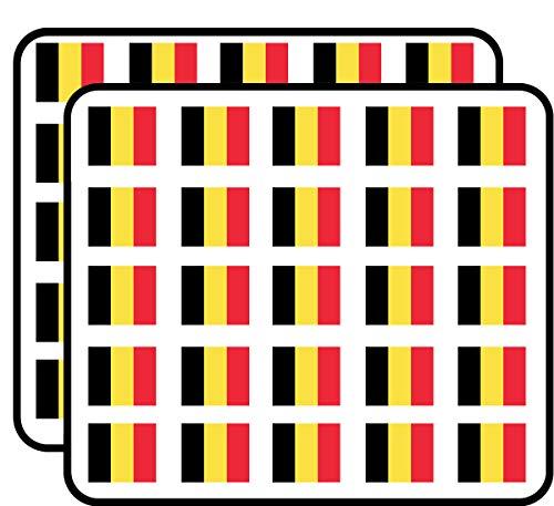 - Belgium Flag (Belgian) Sticker for Scrapbooking, Calendars, Arts, Kids DIY Crafts, Album, Bullet Journals