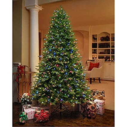 7 5 Artificial Aspen Fir Pre Lit Christmas Tree Amazon Ca Home