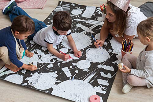 Giant Coloring Poster Space & Star Wars - 60