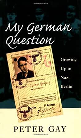My german question author peter gay