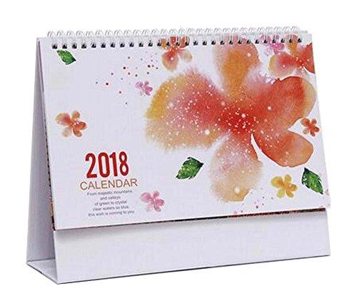 November 2017 to December 2018 Desk Calendar Desktop Calend