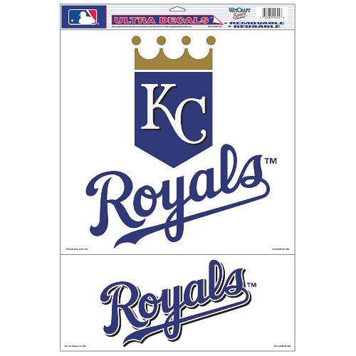 MLB Kansas City Royals 25324061 Multi Use Decal, 11
