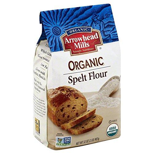 amazon com arrowhead mills organic spelt flour 2 pound pack of 4