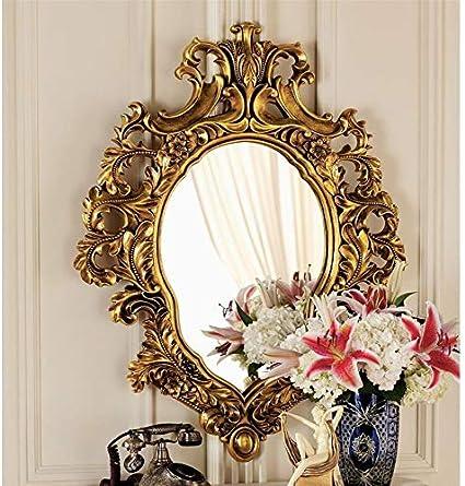 Design Toscano Madame Antoinette Salon Mirror 37 Inch Polyresin Antique Gold Home Kitchen Amazon Com