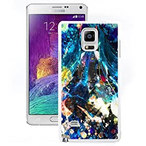 NEW Unique Custom Designed Samsung Galaxy Note 4 N910A N910T N910P N910V N910R4 Phone Case With Miku 3 Anime_White Phone Case