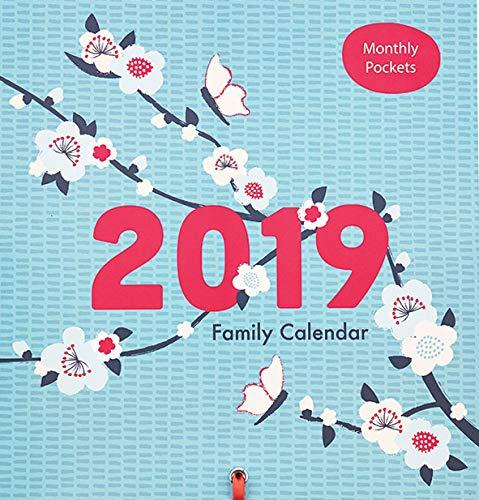 Calendario familiare–2019K due prodotti Family organiser per fino a 5persone con tasche mensili K Two Products