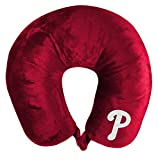 The Northwest Company MLB Philadelphia Phillies Applique Neck Pillow, Travel Pillow, One Size