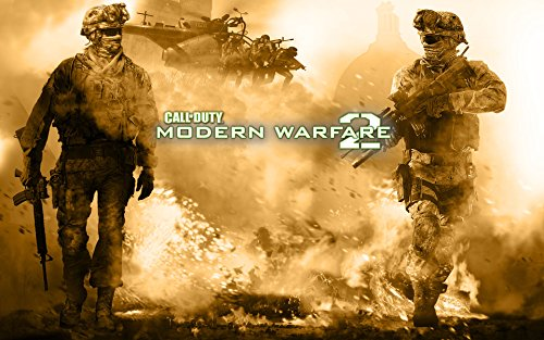Call Of Duty Modern Warfare 2 Poster Game  8 5 X 11