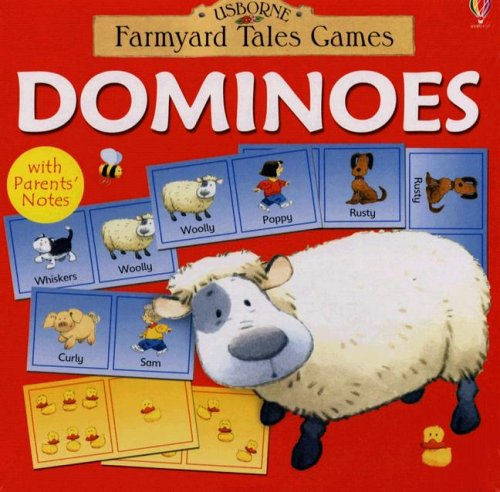 Dominoes: Ages 2-6 Years (Usborne Farmyard Tales Games)