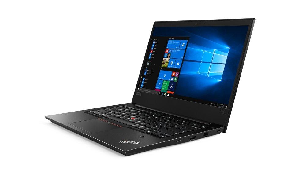 Lenovo ThinkPad E480 - Ordenador portátil de 14 FullHD (Intel Core i5-8250U, 8GB RAM, 256GB de SSD, Intel Graphics, Windows 10 Pro) Negro - Teclado QWERTY ...