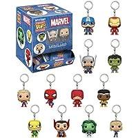 FUNKO POP! Keychain: Marvel Blindbox (One Marvel Blindbox Keychain Figure Per Purchase)