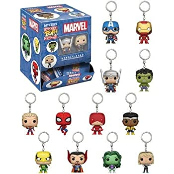 Amazon.com: Funko Pop Keychain Black Panther Collectible ...