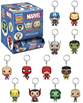 Funko Llavero Pocket Pop! Marvel Blindbags Surtido