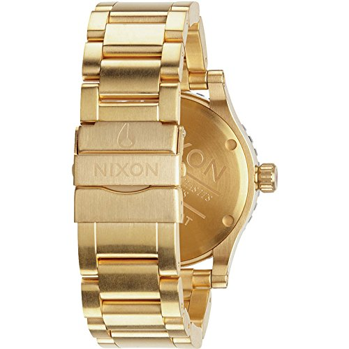 Nixon A277-513 Mens Diplomat SS Gold Black Watch by NIXON (Image #1)