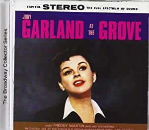 Judy Garland Judy Garland At The Grove Amazon Com Music