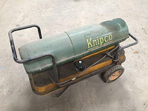 Knipco Portable Heater Model F.98 Torpedo Style 85,000 BTU Green/Yellow