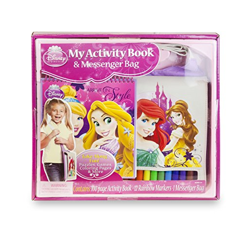 Disney Princess My Activity Book & Messenger Bag Disney Messenger