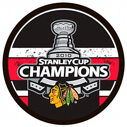 NHL Chicago Blackhawks 2010 Stanley Cup Hockey Champions Souvenir Puck