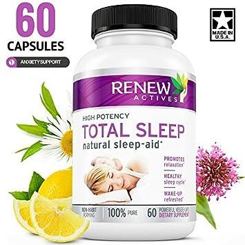 MAX Strength Natural Sleep-Aid Pills With Valerian & Melatonin! Non-GMO.