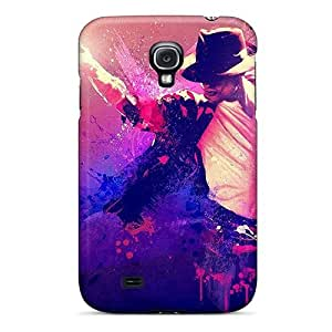 Tpu Fashionable Design Michael Jackson Rugged Case Cover For Galaxy S4 New