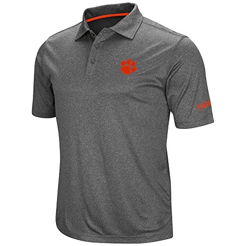 Clemson tigers golf shirt clemson golf shirt clemson for Embroidered polo shirts miami
