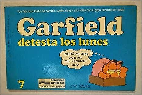 Garfield Detesta Los Lunes (Spanish Edition): Davis: 9788474194081: Amazon.com: Books