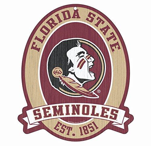 Florida State Seminoles Street Sign - FLORIDA STATE Seminoles Wood Street Sign 11
