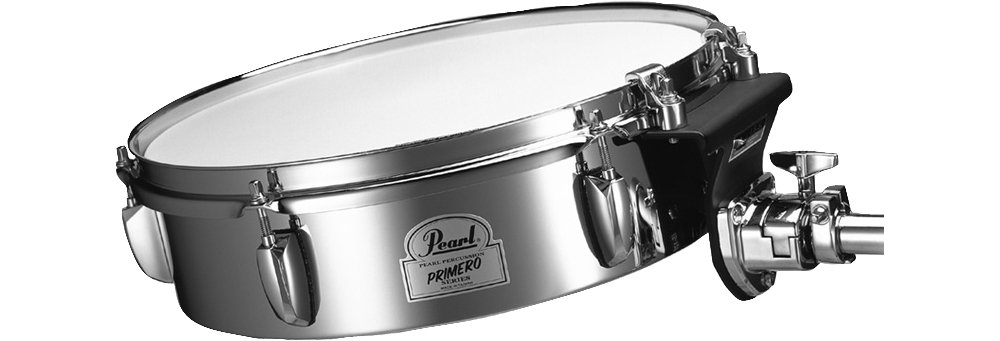 Pearl Primero Steel Timbale with Tom Mount by Pearl