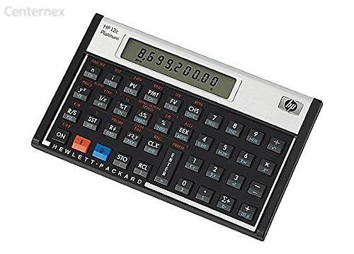 12c Platinum Financial Calculator - Centernex update by HHPP