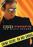 DVD : CSI: Miami: Season 6