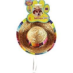 Rubie's Costume 888594-M-L Co Pet Sombrero Hat With Multicolor Trim, Medium/Large
