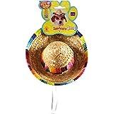 Rubies Costume Co Pet Sombrero Hat with Multicolor Trim, Small/Medium
